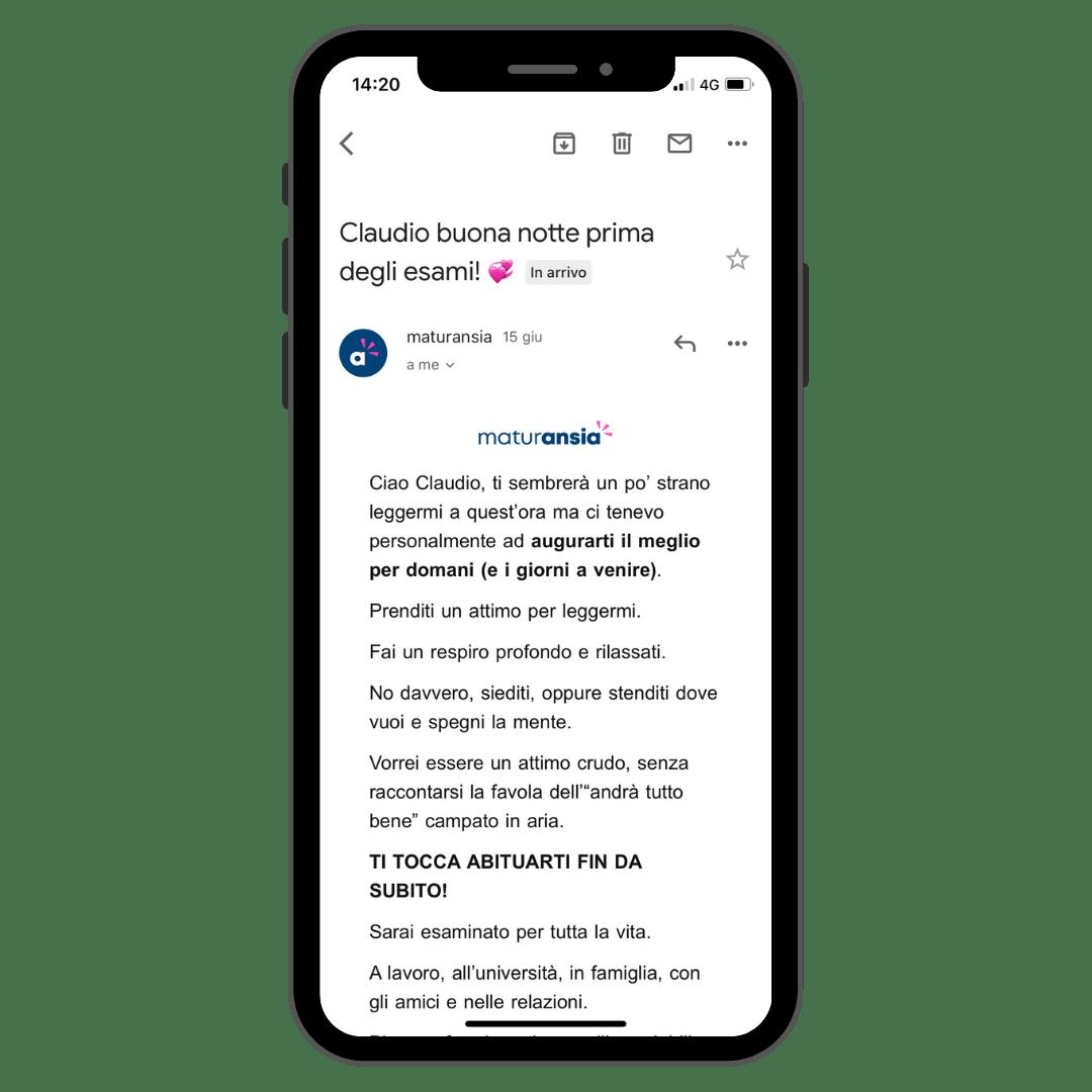 Iscrizione alla newsletter di Maturansia avvenuta con successo